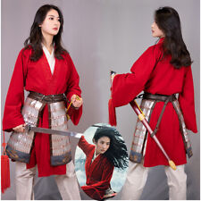 Mulan Costume Cosplay Suit Women's Outfits
