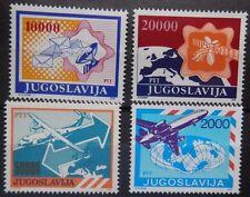 JUGOSLAVIA 1980'-90's ARIA FRANCOBOLLI. Gomma integra, non linguellato.