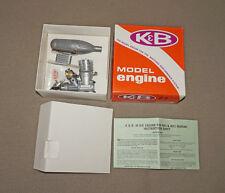NOS K & B MODEL 40 RC AIRPLANE ENGINE Remote Control New Muffler AIRCRAFT 4011