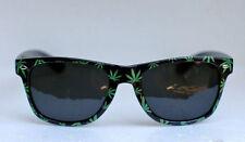 Weed Pot Leaf Sunglasses Blues Glasses Marijuana Reefer Plastic Party Wayfarer