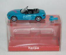 Herpa Werbemodell - BMW Z3 Siemens AC-Motors Rotec - Promo Modell in OVP - 1:87