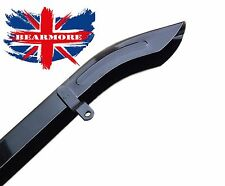 Royal Enfield Bala Moto Cadena guías y guardias de cinturón cubierta Negro # 111713