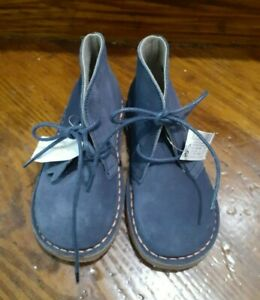 Next Blue Suede Toddler Shoes size 24