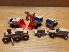 Vintage Mattel Preschool Putt-Putt Construction and Other Wooden Toys