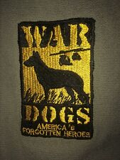 Vietnam War Dogs Olive Drab And Leather Show Jacket Extra Large New