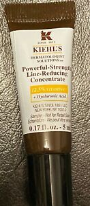 KIEHL'S Powerful-Strength Line-Reducing Concentrate 5ml NEW UNUSED