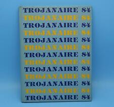 Maroa-Forsyth High School 1984 Trojanaire HB YEARBOOK Maroa Illinois Macon Co IL