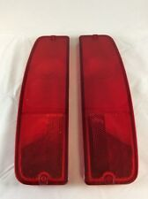 NEW 1964 1965 1966 FORD F-SERIES TRUCK TAILLIGHT LENS SET. F100 F250 F350