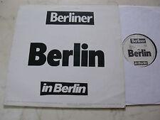 CONRAD SCHNITZLER / W. KILOHERTZ Berlin *MEGARARE PRIVATPRESSUNG*NDW*ELECTRONIC*