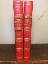 CHARLES DICKENS -LITTLE DORRIT -1ST FIRST EDITION - 1857 - TWO VOLUMES 1ST STATE