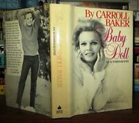 Baker, Carroll BABY DOLL An Autobiography 1st Edition 1st Printing