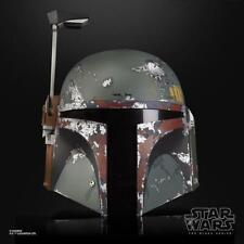 [ToysHero]In Hand Star Wars the Black series Boba Fett Premium Electronic Helmet