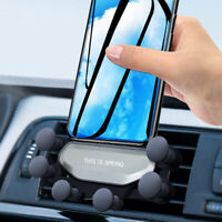 360° Gravity Auto-Grip Air Vent Car Phone Mount Holder Stand For iPhone Samsung