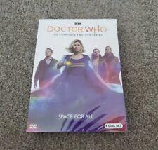 Doctor Who Season 12 (Dvd, 2020, 4-Disc Set) Clearance Region 1 Us Brand New