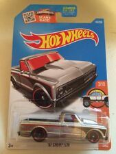 2016 Hot Wheels '67 Chevy C10 Zamac Walmart Exclusive N Case