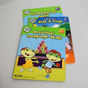 Leap Frog Learning Books Set of 3 Grades Pre-K Through 1 Softcover