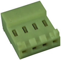 AMP-TE CONNECTIVITY-640426-4-CONNECTOR,RCPT,4POS,1ROW,3.96MM,20PK