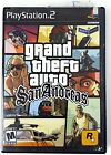 Grand Theft Auto San Andreas PS2 Playstation 2 Complete Game