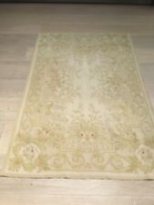 Vintage Hand Made French Genuine Aubusson 200 x 180cm -not machine made in China