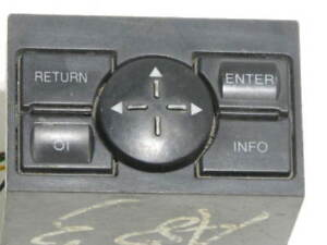 Audi A8 Centre Sat Nav Control Switch Buttons 4D0919885