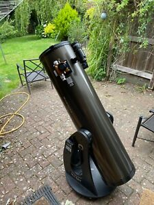Orion Skyquest XT10 Dobsonian telescope with extras inc Moonlite focuser