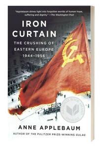 Iron Curtain Crushing of Eastern Europe 1944-1956 Anne Applebaum New remainder*