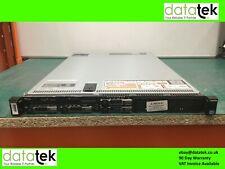 DELL POWEREDGE R620 1U RACK SERVER 2x E5-2630L v2, 16GB, S110, IDRAC 7 INC HDD