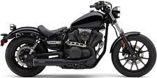 "Cobra Black 4"" Slip-On Exhaust Muffler - Yamaha XVS950 Bolt 950 _2527B"