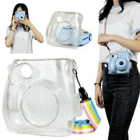 Glitter Transparent Crystal Case PC Cover Bags For Instax Polaroid Mini 7s/7c