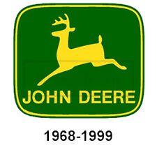 45cm! Auto-AUFKLEBER-UV&Waschanlagenfest John Deere 1968-1999 Logo-Trecker BA07
