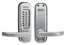 LOCKEY 1150 Mechanical Push Button Lock in Satin Chrome - Left Hand