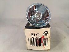 GE Quartzline Lamp ELC 24V 250W Projector Bulb NIB!