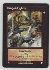 1995 Shadowfist Collectible Card Game Standard Base Set #NoN Dragon Fighter 2ts