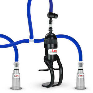 LeLuv EasyOp Zgrip Nipple Vacuum Suction Pump Heightened Sensitivity Device