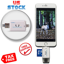 Trail and Game Camera Sd Card Viewer for iOs Android with Micro Usb2.0 Otg Ports