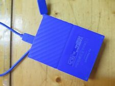 WD My Passport 2TB BLUE External HDD USB 3.0 WDBYFT0020BBL WORKING