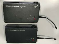 Sennheiser EW100 G1 Wireless Transmitter & Receiver 790 - 822 MHz (D-Band)