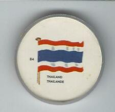 1963 General Mills Flags of the World Premium Coins #84 Thailand