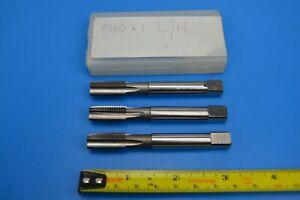 M10 x 1.0 Set of 3 LEFT HANDED HSS Metric taps