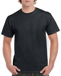 Gildan 5000 Heavy Cotton Adult T-Shirt Black