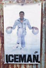 "1978 Vintage 20x34 George Gervin ""Iceman"" Nike Poster ORIGINAL  VERY RARE"