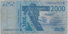 AFRIQUE DE L'OUEST - 2 000 FRANCS CFA - 2003 - BILLET DE BANQUE // Qualité: TB