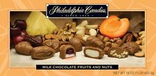 Philadelphia Candies Assorted Milk Chocolate Glace Fruits and Nuts, 1 Pound Gift