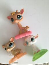 3 LIttlest Pet Shop Mcdonalds Toys