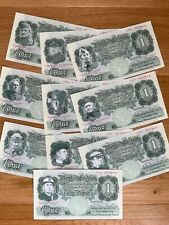 More details for dad's army bank of eastgate £1 notes - complete set - mint condition
