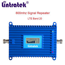 Mobile Phone Signal Booster LTE 800 4G Amplifier Europe 70dB Repeater Band 20