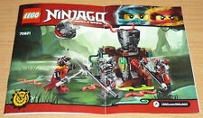 LEGO Bau- & Konstruktionsspielzeug Lego bauanleitungen original sauber ninjago 70750 grosse fahrzeug