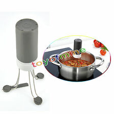 Hands Free !! Stir Crazy Triangle Quick Sauce Stirrer Electric Automatic Blender
