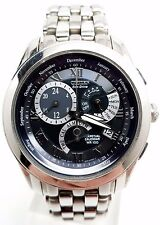 Citizen BL8000-54L Eco-Drive Calibre 8700 Perpetual Cal. Watch BROKEN!!!