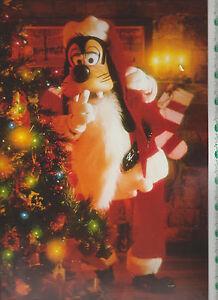 Walt Disney Eyes & Ears Cast Magazine December 21 1989 Goofy Santa Claus